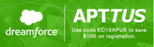 Thanks to our friends at Apttus !
