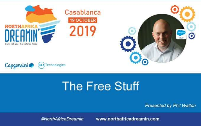 """Phil Walton talking about """"The Free Stuff"""" at North Africa Dreamin"""
