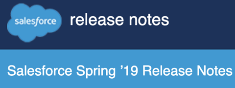 Salesforce Spring 19 - Cloning Sandboxes announced