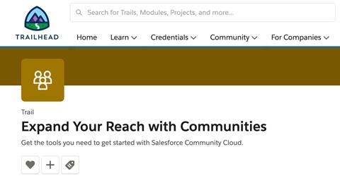 Community Cloud Trail