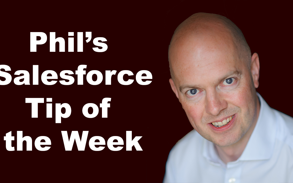 The Salesforce Learning Resources Super Edition – Phil's Tip of the Week #400