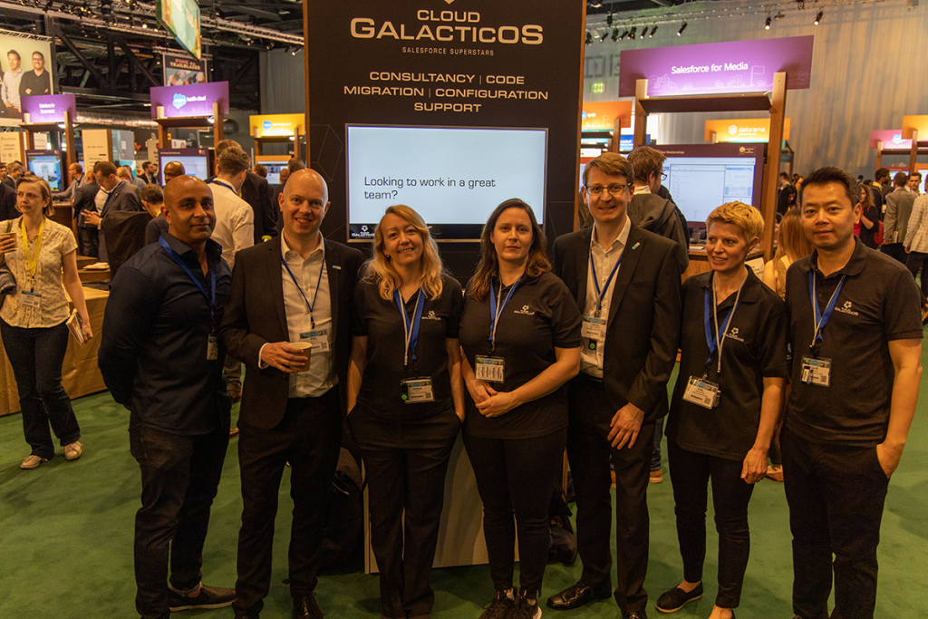 Cloud Galacticos Team at the London World Tour