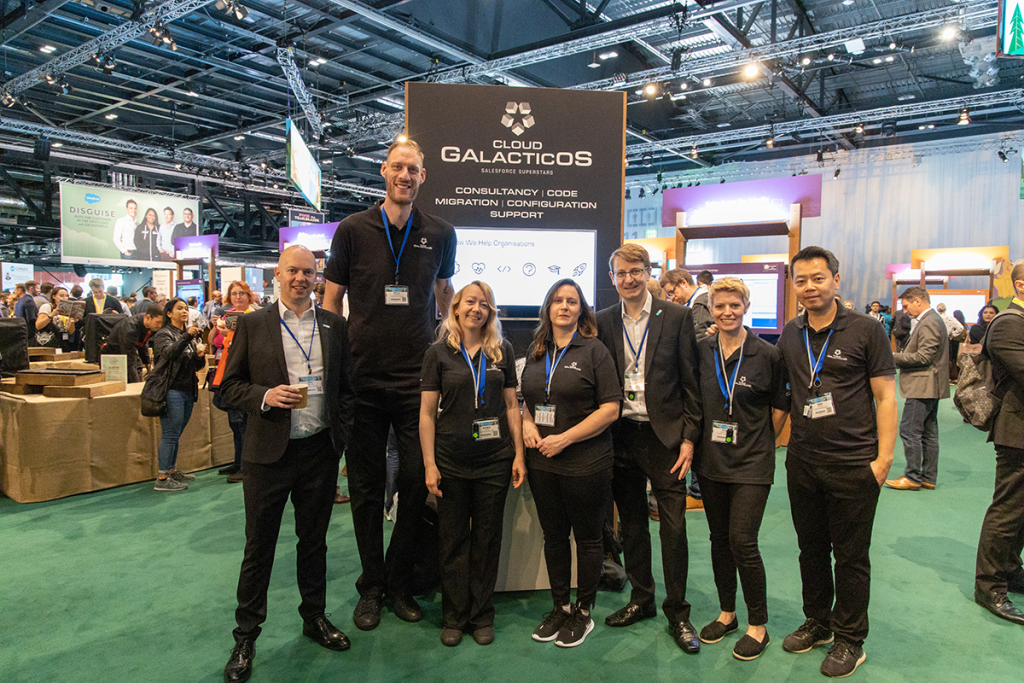 Cloud Galacticos at Salesforce London World Tour with paul Sturgess