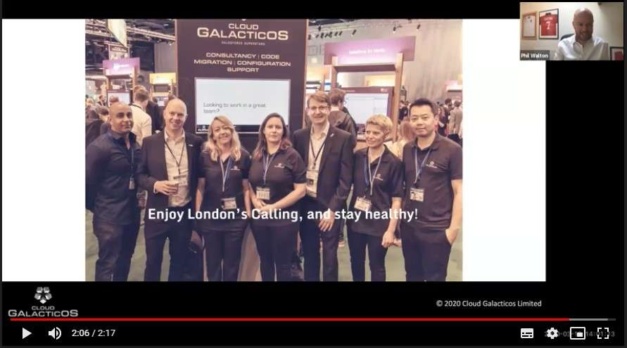 Cloud Galacticos Video For London's Calling
