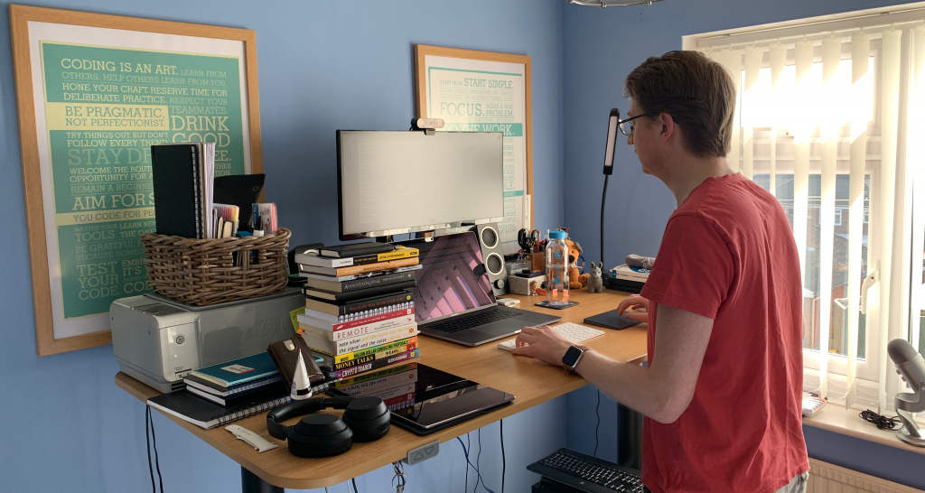 Paul's office setup