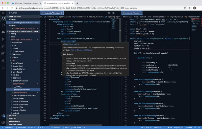 Salesforce Code Builder