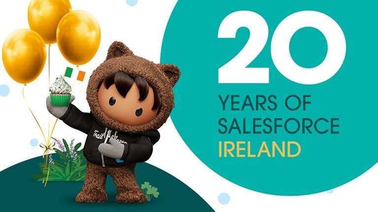 20 years of Salesforce Ireland