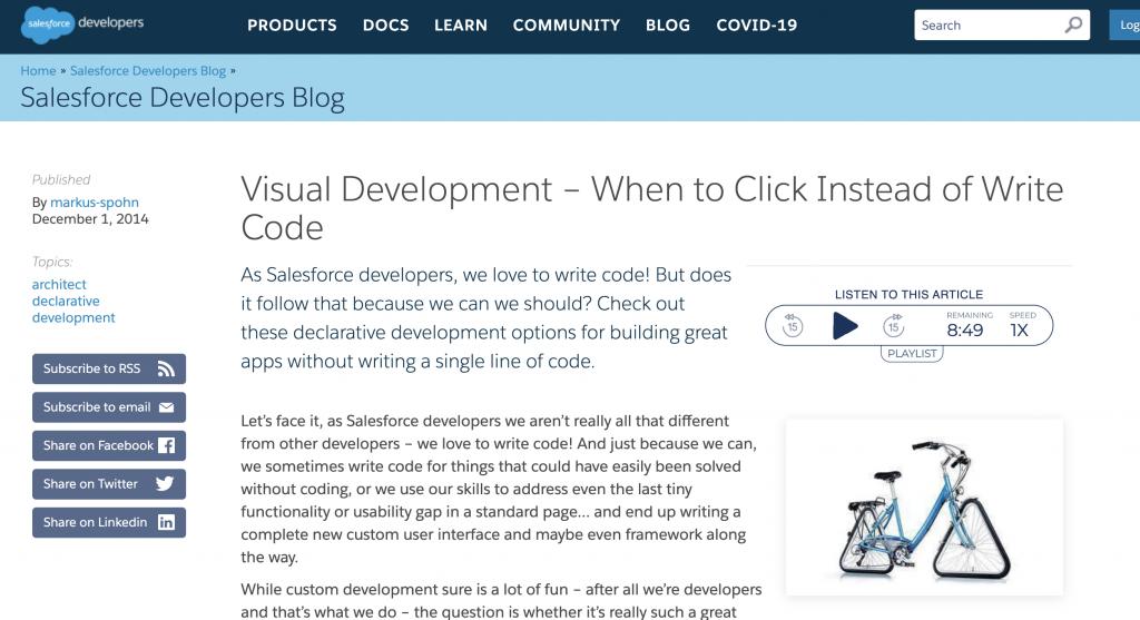 Clicks v Code