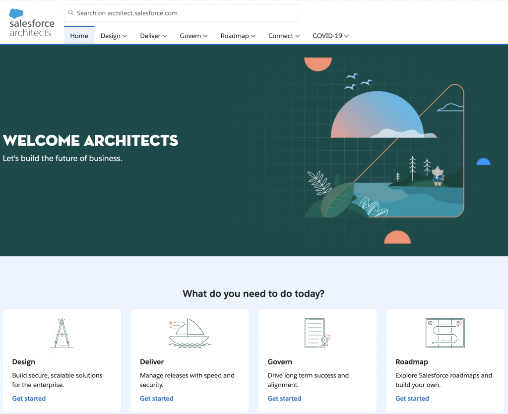 Salesforce Architects Site